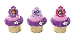 Princess Sofia the First Cupcake Ring Topper