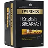 Twinings English Breakfast teabags 50bag - CLF-TWN-001