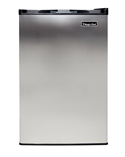 Magic Chef Mcuf3s2 3 0 Cu Ft Upright Freezer Stainless Look