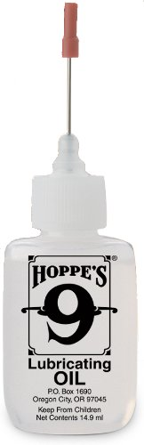 Hoppe's No. 9 Lubricating Oil, 14.9 ml Precision Bottle (Oil Applicator compare prices)