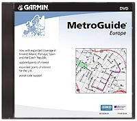 Garmin MapSource European MetroGuide V9 CD-ROM for Garmin GPS Units (010-10370-00) (Discontinued by Manufacturer)