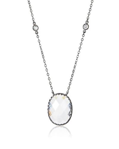 Belargo Oval Stone Necklace