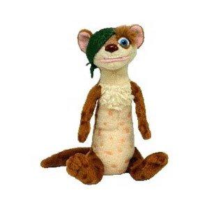 Imagen de Ty Beanie Babies Ice Age Buck the Weasel