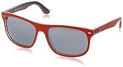 Ray-Ban Mirrored Rectangular Sunglasses (0RB422661908859)