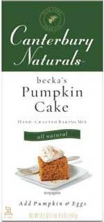 Canterbury Naturals Becka's Pumpkin Cake Mix (2x16.5oz)