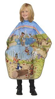 BOB TUO Professional hairdressing cape - Child's design - PARADISE