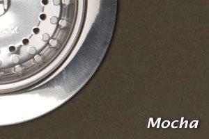 Mocha Granite/Quartz Composite Undermount Kitchen Sink