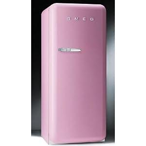 SMEG Refrigerator Pink