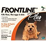 Frontline Plus for Dogs - Small - up to 22 lb. - 3 pk