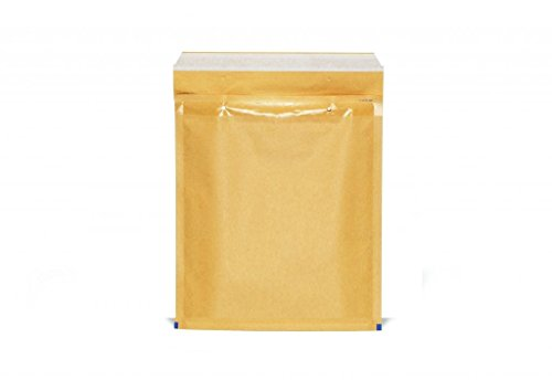 500 Buste Gpack Imbottite per spedizioni colore AVANA Con Pluriball 5 / E - Misure 220 X 265 - Buste bolle aria - Air bubble Bags Classic - BUSTE POSTALI 220 X 265 MM PEZZI AVANA 22X26 BUSTA POSTALE IMBOTTITA