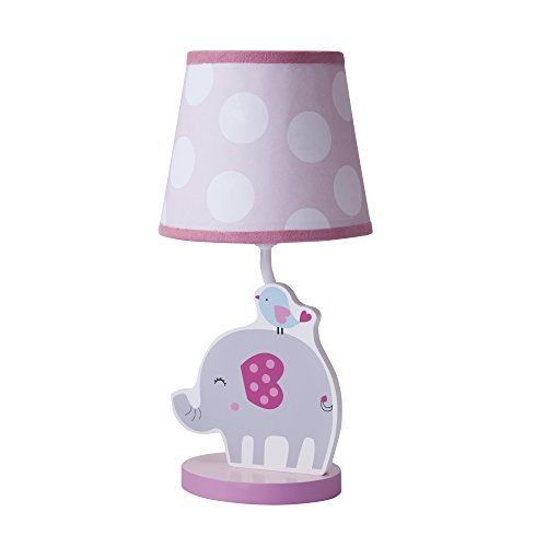 Bedtime Originals Bubblegum Jungle Lamp with Shade and Bulb - 1