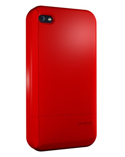 Hard Candy Cases Candy Slider Soft Touch Case for Apple iPhone 4 (AT&T Version Only), Red (CS4G-SFT-RED)