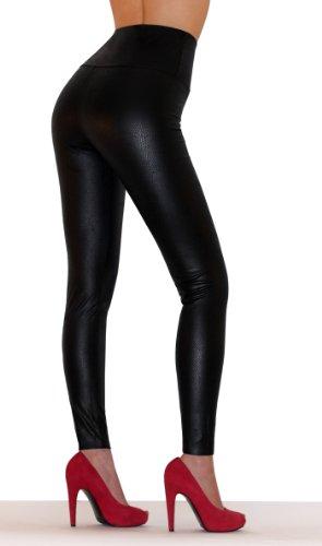 sodacoda-leggings-aspect-cuir-femme-plusieurs-couleurs-metalliques-noir-serpent-l