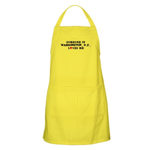 Cafepress Someone In Washington, D.C. BBQ Apron - Standard