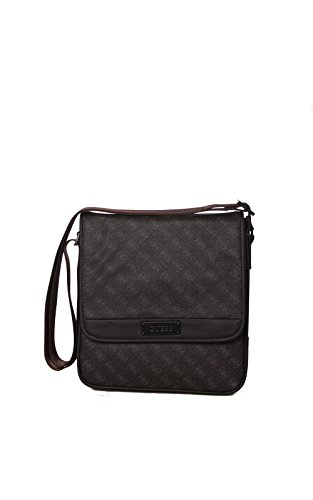 GUESS MYSELF CROSSBODY W FLAP HM1717POL BRO BROWN