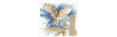heritage-crafts-flights-of-fancy-cross-stitch-kits-owl-in-flight-14-count