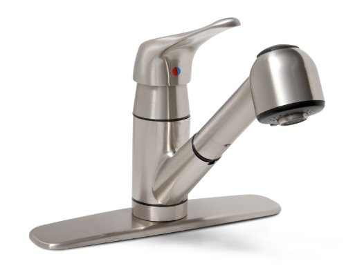 Premier 120161LF Sonoma Lead-Free Pull-Out Kitchen Faucet, Brushed Nickel