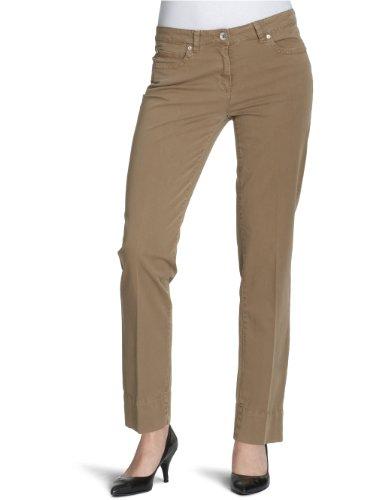 Henry cotone s Slim Fit-Pantaloni da donna beige 31 W