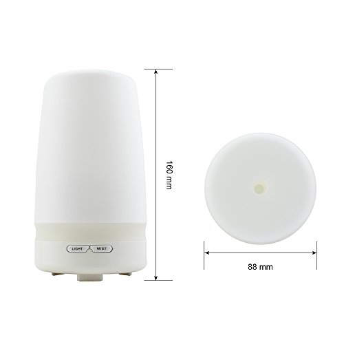 Joly Joy Ultrasonic Cool Mist Aroma Diffuser And Humidifier 100ml With Soft Led Light For