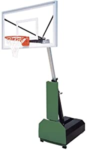 First Team Fury Select Portable Basketball Hoop with 60 Inch Acrylic Backboard by First Team
