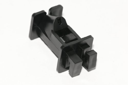 Fi-Shock SC-70B Black Slant-nail Wood Post Insulators, 25-Per Bag