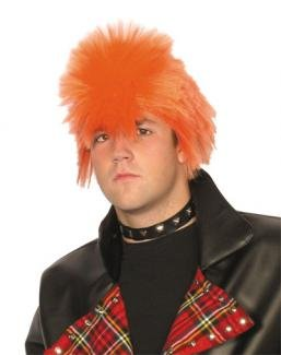 Orange Spikey Scotsman / Punk Wig.