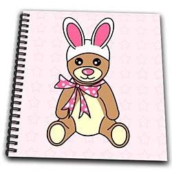 Easter Cute Easter Teddy Bear  Bunny Ears - Drawing
