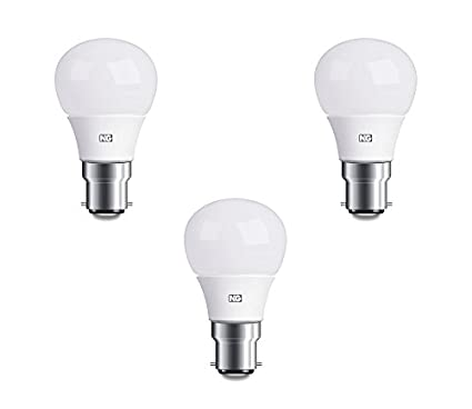 6W LED Bulb Cool White (Set Of 3)