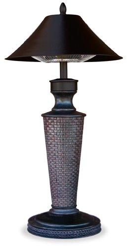 UniFlame Table Lamp Electric Heater - 1200 Watt,
