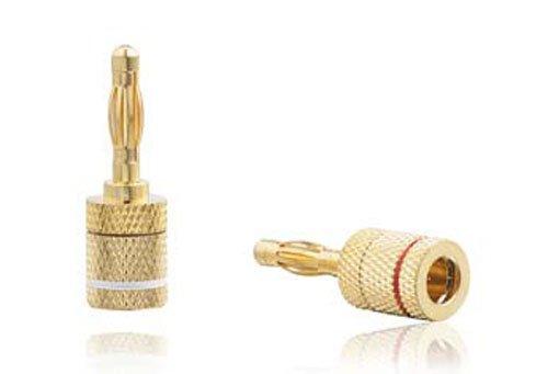 Radioshack® Speaker Wire Quick Banana Plugs (2-Pack)
