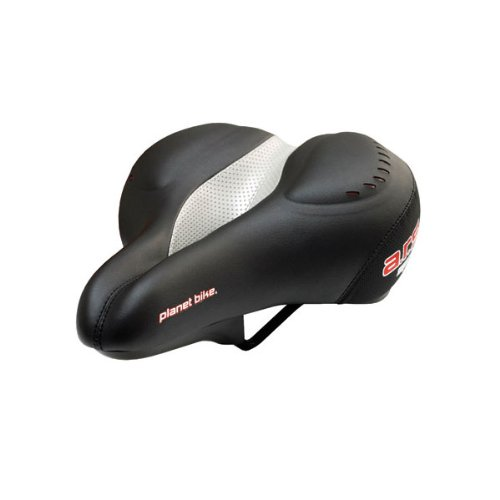 Planet Bike 5019 Men's ARS Spring Anatomic Relief Saddle with Gel and Elastomer Springs