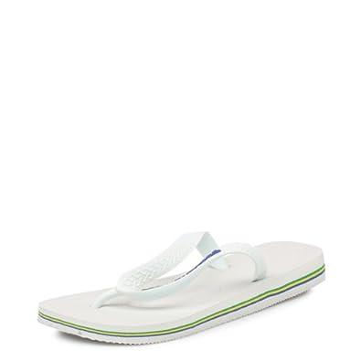 Unisex Havaianas Brasil Logo Flip Flops Sandals SIZE 11 / 12 BRA 45/46