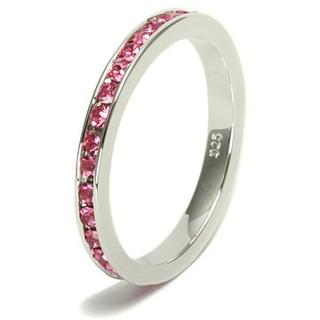 stackable birthstone rings best cheap price october