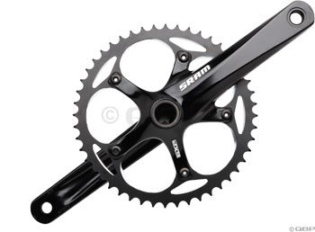SRAM S300 GXP 165mm 48T Black Courier Crankset w/BB
