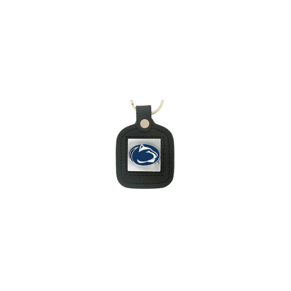 College Leather Key Ring   Penn State Nittany Lions