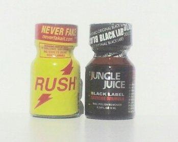 Rush & Jungle Juice Black Extreme Formula 2-Pack