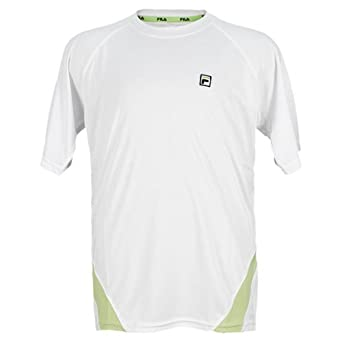 Buy Fila Boy's Center Court Solid Tennis Crew Neck Shirt by Fila