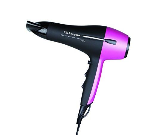 Orbegozo SE 2320 - Secador de pelo, 2200 W, color negro y rosa