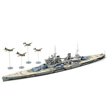 Tamiya 31615 1/700 British Prince of Wales Battleship (japan import)