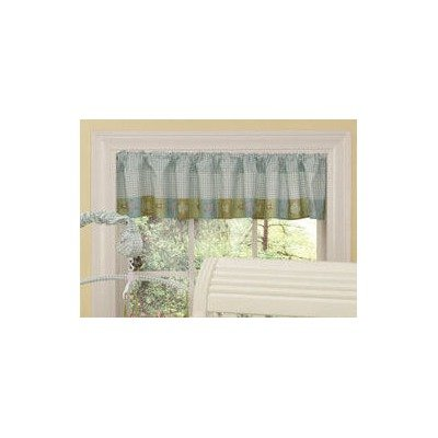 Step By Step Sea Life Valance, Blue/Brown (Discontinued by Manufacturer)
