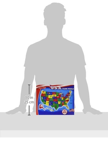 Melissa & Doug USA Map 51