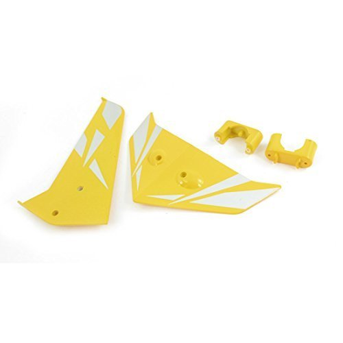 sourcingmap-a14070700ux0339-rc-ricambi-yellow-tail-decorazione-pinna-per-syma-s033g-elicottero