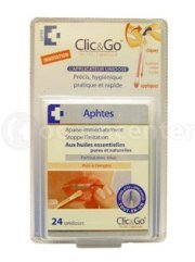 Clic & Go Mouth Ulcers x24
