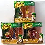 EL CHAVO - 6 Figure Collection (El Chavo, Quico, Popis, Don, Nono & La Florinda)