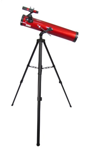 Carson RP-100 Red Planet 35-88x76mm Newtonian Reflector Telescope