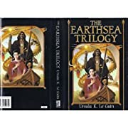 The Earthsea Trilogy: A Wizard of Earthsea; The Tombs of Atuan; The Farthest Shore by Ursula K. Le Guin cover image