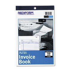RED7L721 - Rediform Invoice Book