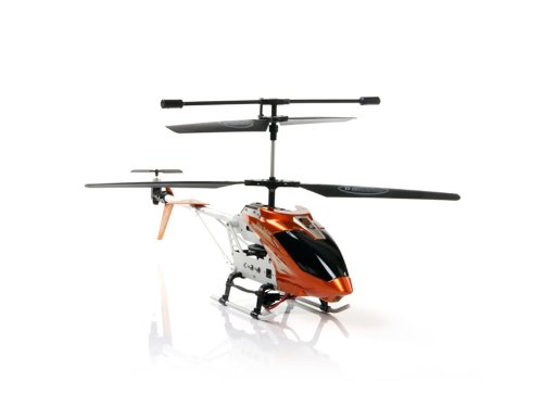 Toys Kingdom A003 3.5CH Infrared Mini RC Helicopter (Orange)