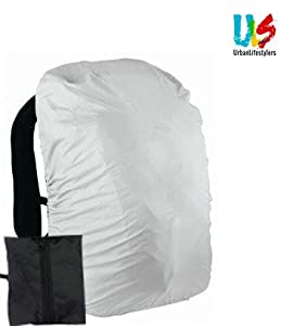 Durable, Lightweight, packable Velcro and Loose cuffs. Size :Fits To All Laptop Bags Colors Available :- Silver color will be despatched Very Comfortable while travelling.
