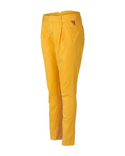 Bench, Pantaloni donna Chino Straighten Up, Amarillo (mais), (Tallia Produttore: 24/32)